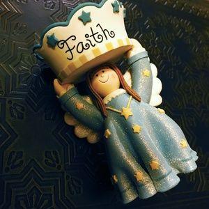 Adorable Faith Angel Tea Light Holder